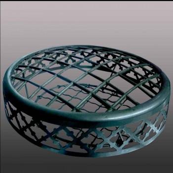Val Saint Lambert cristallo vaso art deco-chiaro cristallo doppio ametista inizio del XX secolo