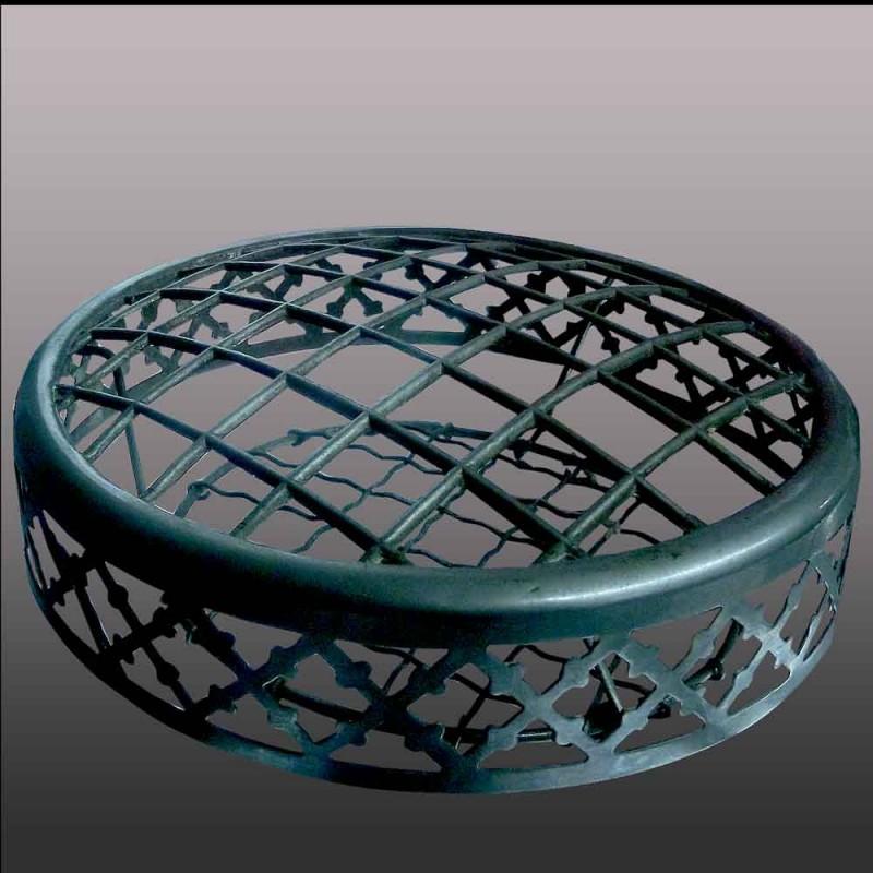 Val saint Lambert          vase en cristal art déco-cristal clair doublé améthyste début XXe siècle
