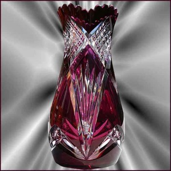 Modelo de cristal Val Saint Lambert 1908 Xavier th.
