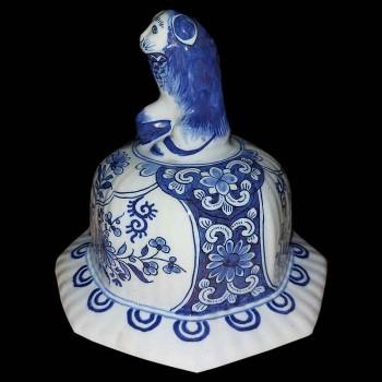 De goud - geschilderde limoge Daniel Moreaux - soep - plantaardige vrij florale decoratie met streep porselein
