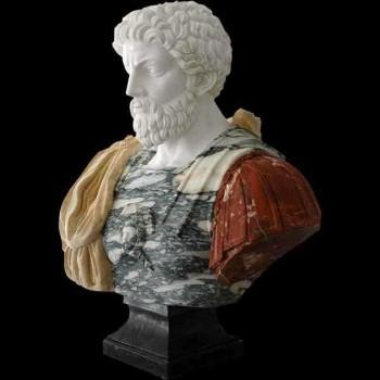 Marmeren borstbeeld van Marcus Aurelius 1925
