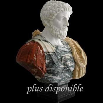 Buste en marbre de Marc Aurèle 1925