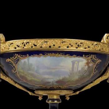 XIX eeuw porseleinen middelpunt