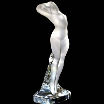 Lalique, sensual female statuette XX century