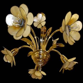 lámpara colgante vintage estilo Hans Kogl