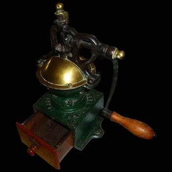 Peugeot Frères patented coffee grinder