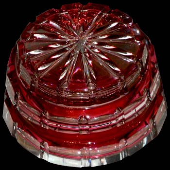 Kristallleuchter Val Saint Lambert Art Deco