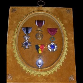 Offizielle belgische Ehrenmedaillen