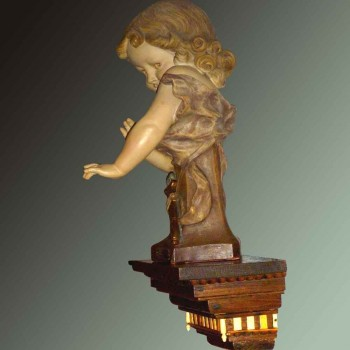 Sculpture en terre cuite Aristide de Raniéri1880/1914