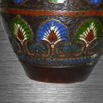 vase cloisonné époque Meiji Japon 19 siècle