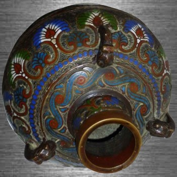 septate Vase Meiji Japan 19. Jahrhundert