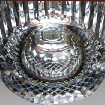 Val Saint Lambert Charles Graffart crystal vase signed
