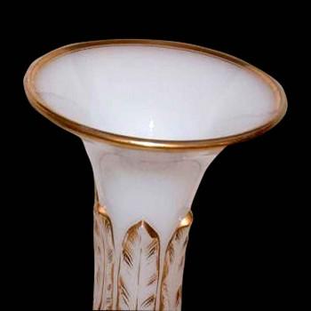 Paire de vases Baccarat d'époque XIX siècle