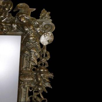 Mesa espejo Napoleón III período, siglo XIX