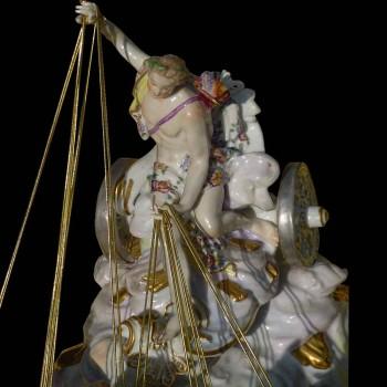 Triumph van Apollo porseleincollectie, sevres (Samson) XIX eeuw