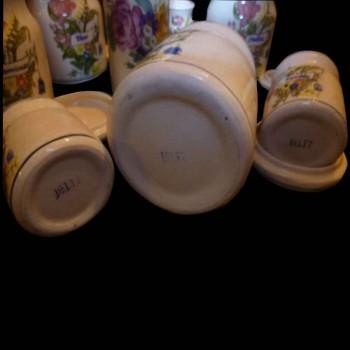 Set de pots à épices Delft, Art nouveau
