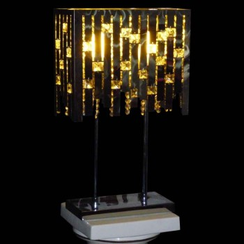 Diseño de iluminación vintage en cromo Max Sauze 1970