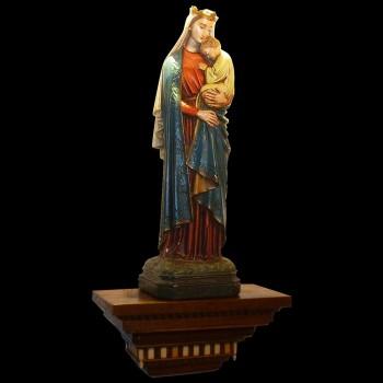 """Virgen y el niño """"sedes sapientiae"""""""
