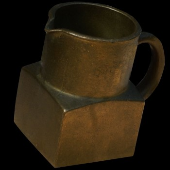Brocca in bronzo alta volta del XVI secolo