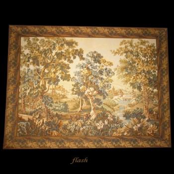 Groen tapijt uit Oudenaarde (Goblins)