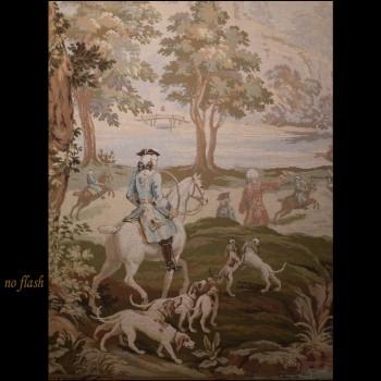 Goblin tapestry hunting scene