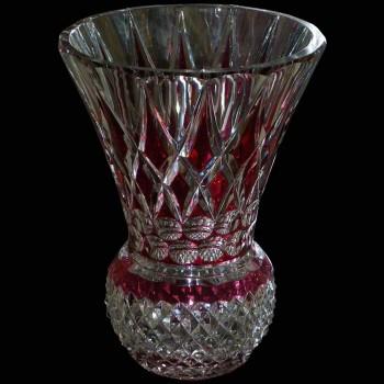 Crystal Vase Val Saint Lambert
