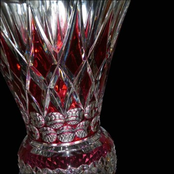 Vase en cristal Val Saint Lambert