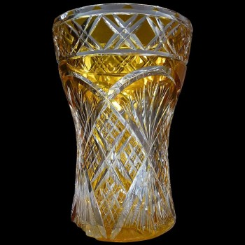 Crystal Vase Val Saint Lambert Art deco