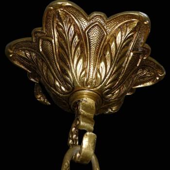 Lustre en bronze de style Louis XV