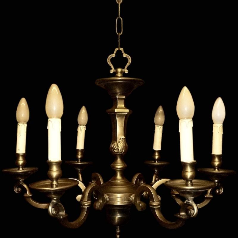 Bronze Chandelier XIX th century