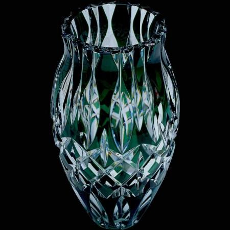 Mooie kristallen vaas Val Saint Lambert België teken
