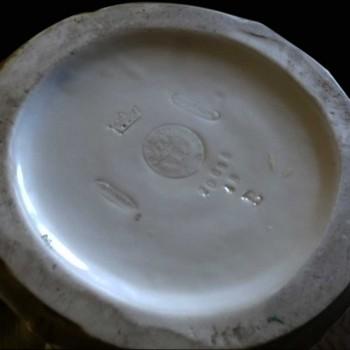 ceramique Imperial Amphora-vase panier aux putti