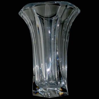 Muestra cristalina del florero que desteta