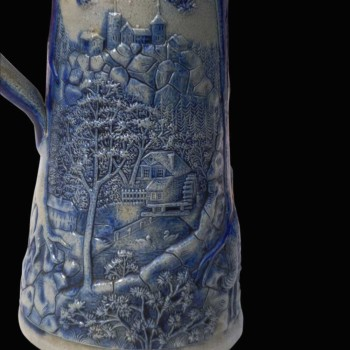Pitcher in gres Germany XVIII th century