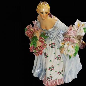 Italiaanse porseleinen beeldje teken Carlo Mollica