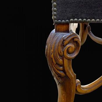 Chair style Regency 19 th century flat back