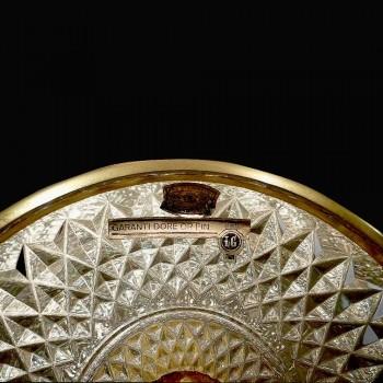 Copa pedestal cristal Val Saint Lambert