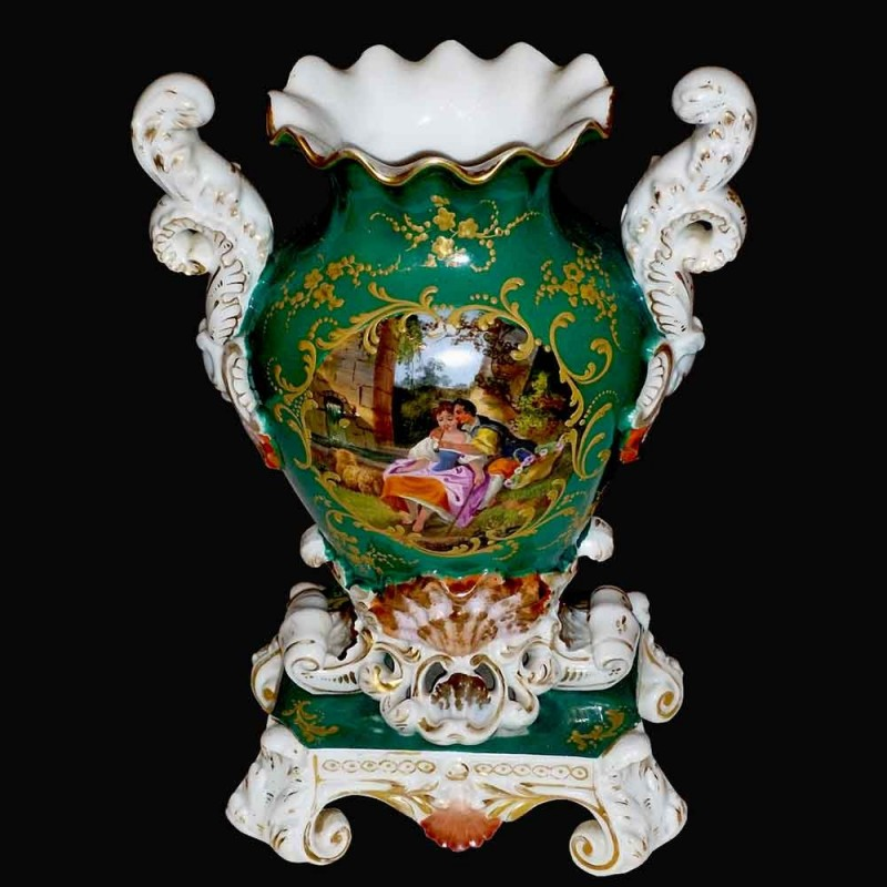 corte de porcelana