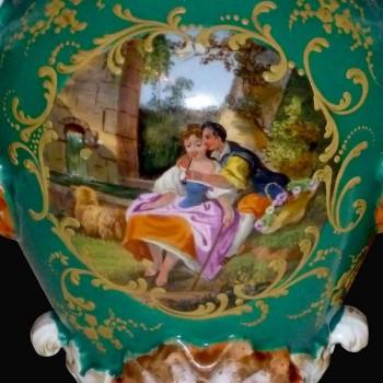 Parijs 19 th J.P. porseleinen vaas