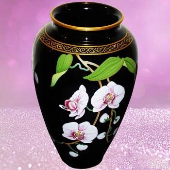 coleccion Makoto Miyagi - florero de la porcelana de Franklin Mint