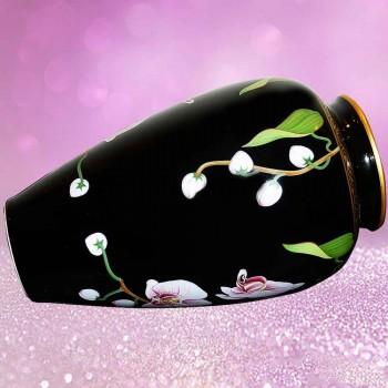 vase de collection en porcelaine Makoto Miyagi-Franklin Mint