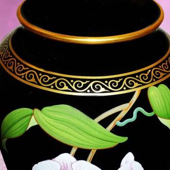 collection Makoto Miyagi - Franklin Mint porcelain vase