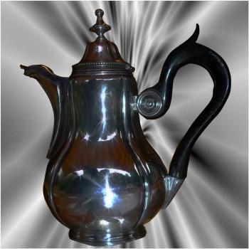 Massive silver jug XIX th century
