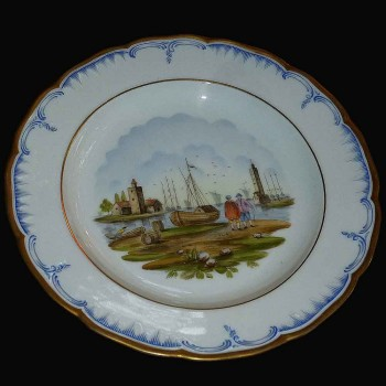 Porcelana de Berlin KPM XIX siglo
