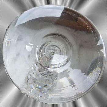 Candelabre en cristal du val Saint Lambert 1925