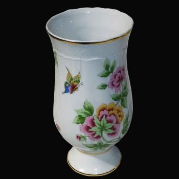 Vase en porcelaine de Herend (Hongrie)
