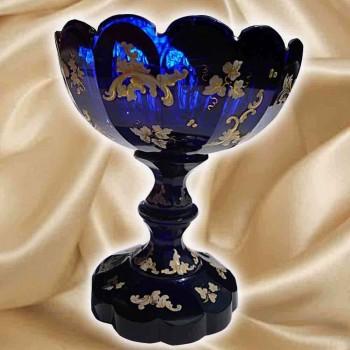 Cristal de Bohemia, siglo XIX Copa