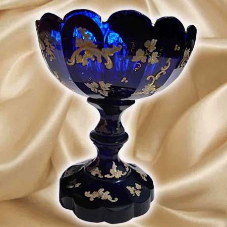 Boheems kristal, knippen XIXe eeuw