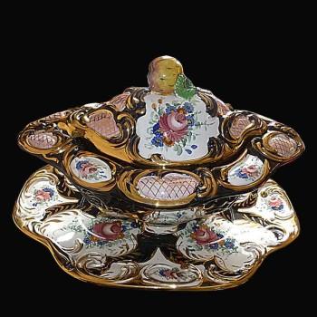 ceramique Elegante sopera y su exhibicion en