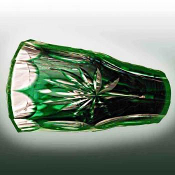 Crystal val saint Lambert vase unit signed owned vaas val saint Lambert